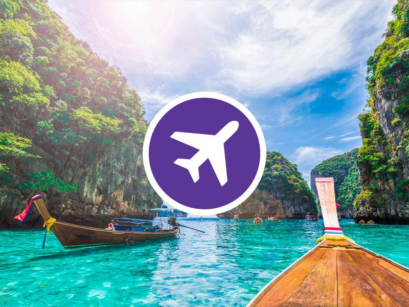 Nudge Saver helps you get to Phi Phi Island